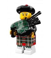 LEGO : LEGO MINI FIGURE SERIES 7 : No.06 BAGPIPER ทหารปี่สก๊อต [SOLD OUT]