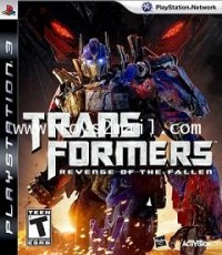 PS3 : TRANSFORMERS : REVENGE OF THE FALLEN [USED] [ENGLISH] [ZONE 1] [SOLD OUT]