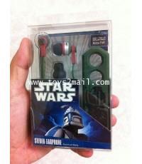 STAR WARS : STAR WARS BOBA FETT STEREO EARPHONE สินค้าจาก TAKARA [SOLD OUT]