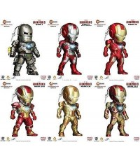 IRON MAN 3 : IRON MAN 3 LED PLUGY SERIES 3 ครบชุด 6 แบบ สินค้าจาก KIDS LOGIC [SOLD OUT]