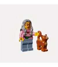 LEGO : LEGO MINI FIGURE THE MOVIE 2014 : No. 06 MRS.SCRATCHEN POST [SOLD OUT]