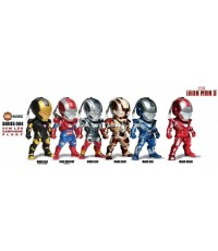 IRON MAN 3 : IRON MAN 3 LED PLUGY SERIES 4 ครบชุด 6 แบบ สินค้าจาก KIDS LOGIC [SOLD OUT]