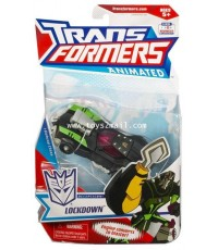 TRANSFOMERS ANMATED 2008 : DX LOCKDOWN  HASBRO [SOLD OUT]