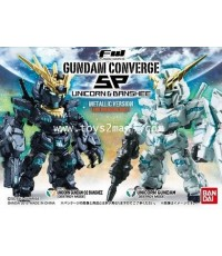 BANDAI : Gundam Converge FW SP UNICORN vs BANSHEE Metalic Ver.(FOR OVERSEA ONLY) [SOLD OUT]