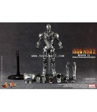 HOT TOYS : 1/6 HOT TOYS IRON MAN MK II (Armor Unleashed Ver.) Limited Edition 12-inch Figure [SOLD]