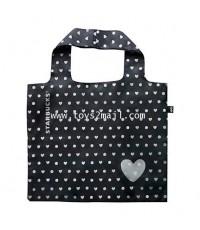 STARBUCKS : กระเป๋าหิ้วถุงผ้าลายจุดสีดำ STARBUCKS Taiwan 2016 น่ารักเก๋ไก๋ [SOLD OUT]