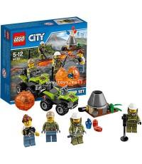 LEGO CITY : No.60120 LEGO CITY VOLCANO STARTER SET ชุดหน่วยขุดภูเขาไฟ [2]