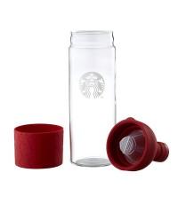 STARBUCKS : STARBUCKS FILTER-IN BOTTLE RED LIMITED ขนาด 750 ml. สินค้าจาก Starbucks Taiwan [ORDER]