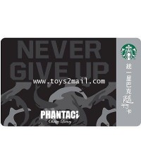 STARBUCKS : STARBUCKS X Jay Chou 2016 PHANTACi -NEVER GIVE UP- CARD สินค้าพิเศษจาก Taiwan