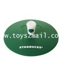 Starbucks Taiwan 16oz Togo Cup Style Silicon Lid Green