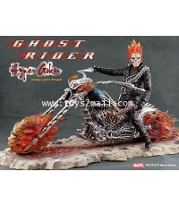 MARVEL HERO ETC : Ghost Rider EZhobi Toy 1/9 Hyper Gokin Figure Johny Blaze Hell Bike [PRE-ORDER]