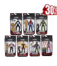 MARVEL LEGENDS : SPIDER-MAN SANDMAN SERIES สินค้าครบชุด 7 กล่อง [2]