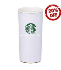 STARBUCKS : Classic White Boyed 12oz 漸層棕不鏽鋼杯 แก้วสแตนเลสคลาสสิคบอลย์ น่ารักๆ [SOLD OUT]