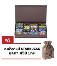 STARBUCKS : STARBUCKS TAIWAN A TO Z Gift Card การ์ดพิเศษตัวอักษรภาษาอังกฤษ 26 ตัวอักษร [5 SET]