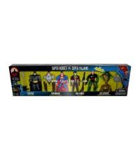DC SUPERHEROES : BATMAN THE NEW ADVENTURE : SUPERHEROS vs SUPER VILLAINS (1999) Box Set [SOLD OUT]