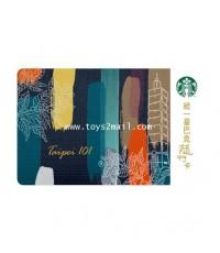 STARBUCKS : STARBUCKS TAIPEI 101 Gift Card การ์ดพิเศษจากตึกไทเป 101 ไต้หวัน [2]
