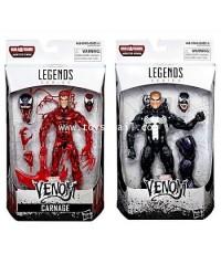 MARVEL LEGENDS : VENOM SERIES : VENOM + CARNAGE COMIC Ver. สินค้าขายเป็นคู่ราคาพิเศษ [SOLD OUT]