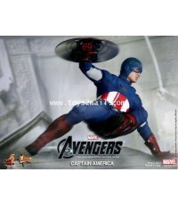 HOT TOYS : 1/6 THE AVENGERS CAPTAIN AMERICA Limited Edition 12-inch Collectible Figure [SOLD OUT]