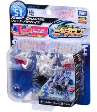 B-DAMAN CROSS FIGHT : CB-51 SONIC DRAVISE ของแท้ 100 จาก TOMY TAKARA [2]