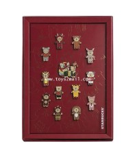 STARBUCKS : 2019 LIMITED EDITIONS BEAR CHINESS NEW YEARS ZODIACE COLLECTIONS PINS ชุดเข็มกลัด [2]