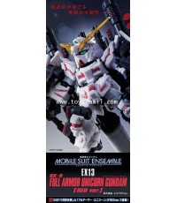 BANDAI : MOBILE SUIT ENSEMBLE EX13 FULL ARMOR UNICORN (RED Ver.) [2]
