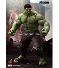HOT TOYS : MMS-186 THE AVENGERS HULK 1/6 SCALE Limited Edition 16.5 inch Collectible Figure [RARE] [
