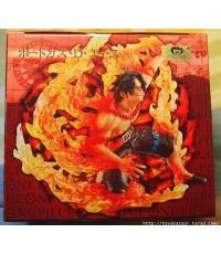 One Piece Super Effect Figure Vol.4 Pre-Painted PVC Figure: Portgas D. Ace