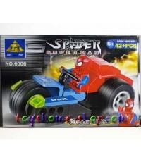 เลโก้จีน เลโก้สไปเดอร์แมน รุ่นรถเลโก้สไปเดอร์