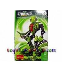 lego ราคาถูก หุ่นไบโอนิเคิล Star soldier ชุด HERO แบบที่ 3 BREEZ
