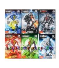 lego ราคาถูก หุ่นไบโอนิเคิล Star soldier hero factory ครบเซ็ต ชุด NEW HERO