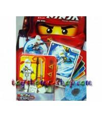 เลโก้จีน เลโก้จีนราคาถูก รุ่น เลโก้นินจาโก ลูกข่างเดี่ยว (ขาว)
