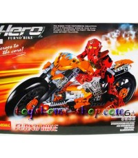 lego ราคาถูก หุ่นไบโอนิเคิล Star soldier new hero ภาค 2 รุ่น furno bike(มอเตอร์ไซค์ฮีโร่)