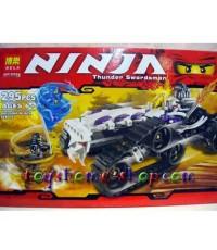 เลโก้จีน เลโก้จีนราคาถูก รุ่น เลโก้นินจาโก 9732 ชุดรถปีศาจกระดูก(ส่งฟรี)