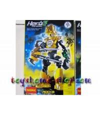lego ราคาถูก หุ่นไบโอนิเคิล Star soldier ชุด HERO factory 3  ROCKA 9601