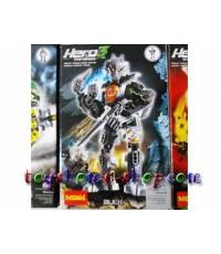 lego ราคาถูก หุ่นไบโอนิเคิล Star soldier ชุด HERO factory 3  AULK 9605
