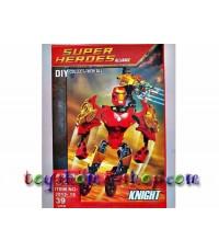 เลโก้จีน แบบตัวต่อหุ่น Super Hero The adventure Iron man