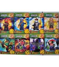 เลโก้จีน ชุดเลโก้นินจาโก Fire รวม 8 ตัว (กล่อง)
