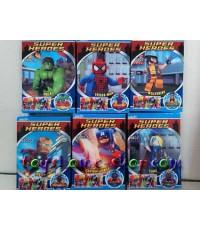 เลโก้จีน ชุด เลโก้ฟิกเกอร์ แอดเวนเจอร์ ครบชุด 6 กล่อง