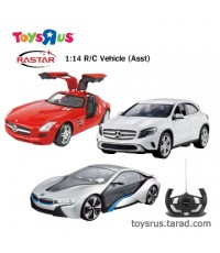 Rastar 1:14 R/C Vehicles (Asst.)