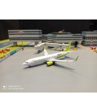 P4391 1:400 Solaseed Air 737-800 JA812X [Width 9 Length 9.5 Height 3 cms.]
