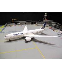 HERPA WINGS 1:200 UNITED AIRLINES B787-8 DREAMLINER N20904 HW555616