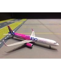 PHOENIX 1:400 Wizz A321 HA-LTD Wizz 100th PH1499
