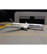 JC WINGS 1:400 Qatar A350-900XWB A7-ALZ One World (Flap Down Version) XX4047A