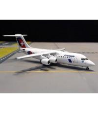HERPA WINGS 1:200 Crossair Avro RJ100 Jumbolino HB-IXX HW559638