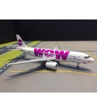 JFOX 1:200 WOW A320-200 LZ-WOW JFA320008