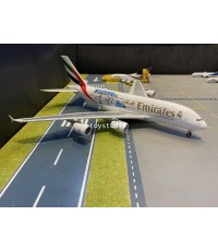 Herpa Wings 1:200 Emirates A380 Real Madrid A6-EUG HW559508