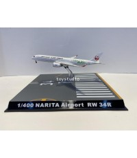 FantasyWings 1:400 Narita Airport Runway 34R Display Stand With Case Cover SC4038