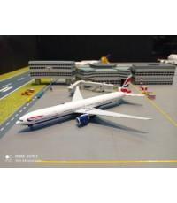 P4382 1:400 British 777-300ER G-STBM [Width 16 Length 18 Height 4.5 cms.]