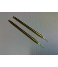 เหล็กดันแกนโลหะ ขนาด 1 mm.  ( 2 ชิ้น )