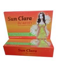 ซันคลาร่า (sunclara) กล่องสีส้ม Gift set 12 กล่อง